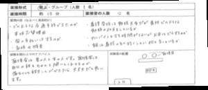 受験報告書